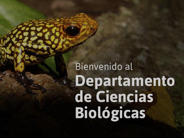 Departamento de Ciencias Biológicas - Uniandes