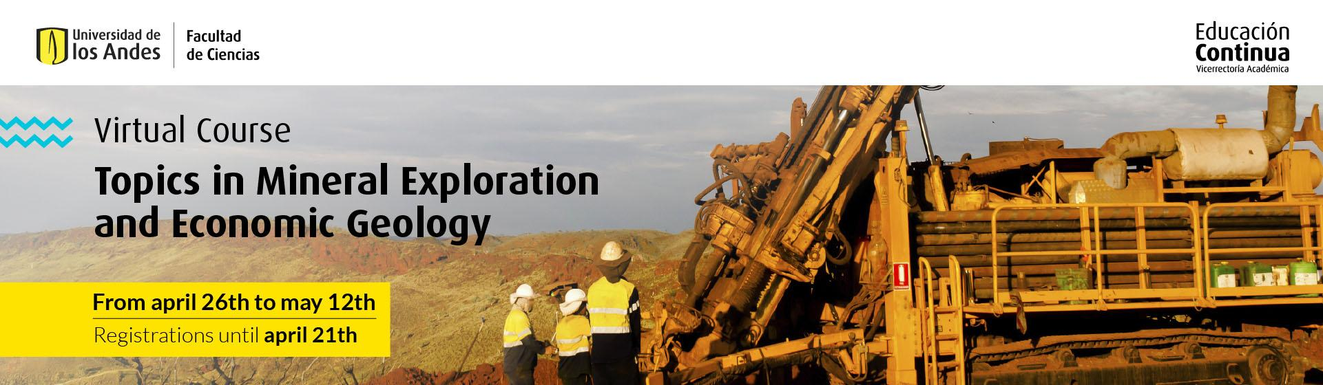 Topics in Mineral Exploration and Economic Geology - Uniandes