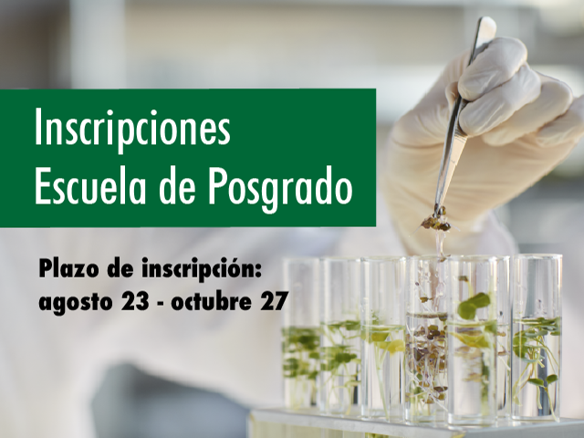 Inscripciones posgrados Ciencias Biológicas - Uniandes